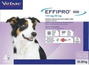 Effipro Duo Cane Spot- On Kg. 10 - 20